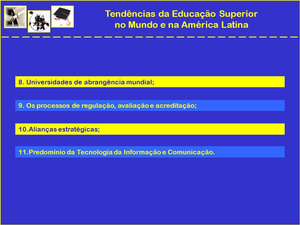 Tendências da Educação Superior no Mundo e na América Latina 8.
