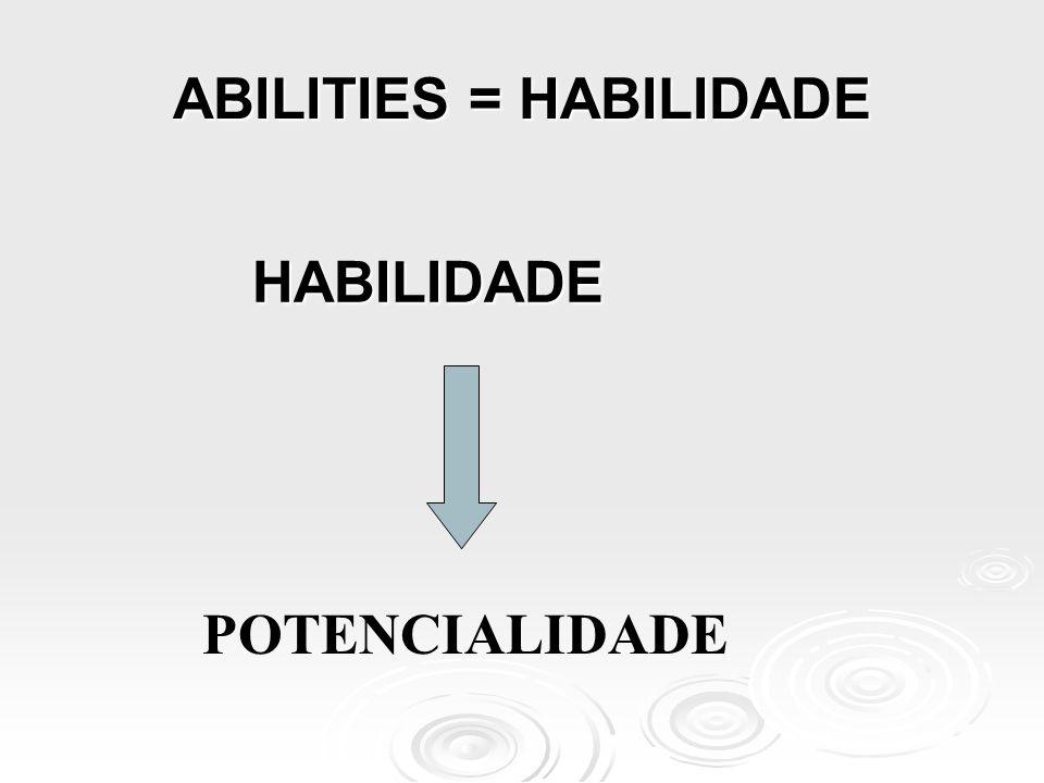 HABILIDADES E COMPETÊNCIAS  HABILIDADES ACADÊMICAS  COMPETÊNCIAS PROFISSIONAIS