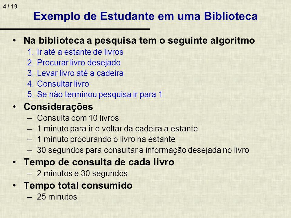 15 / 19 8.(ENADE 2005) O grande...