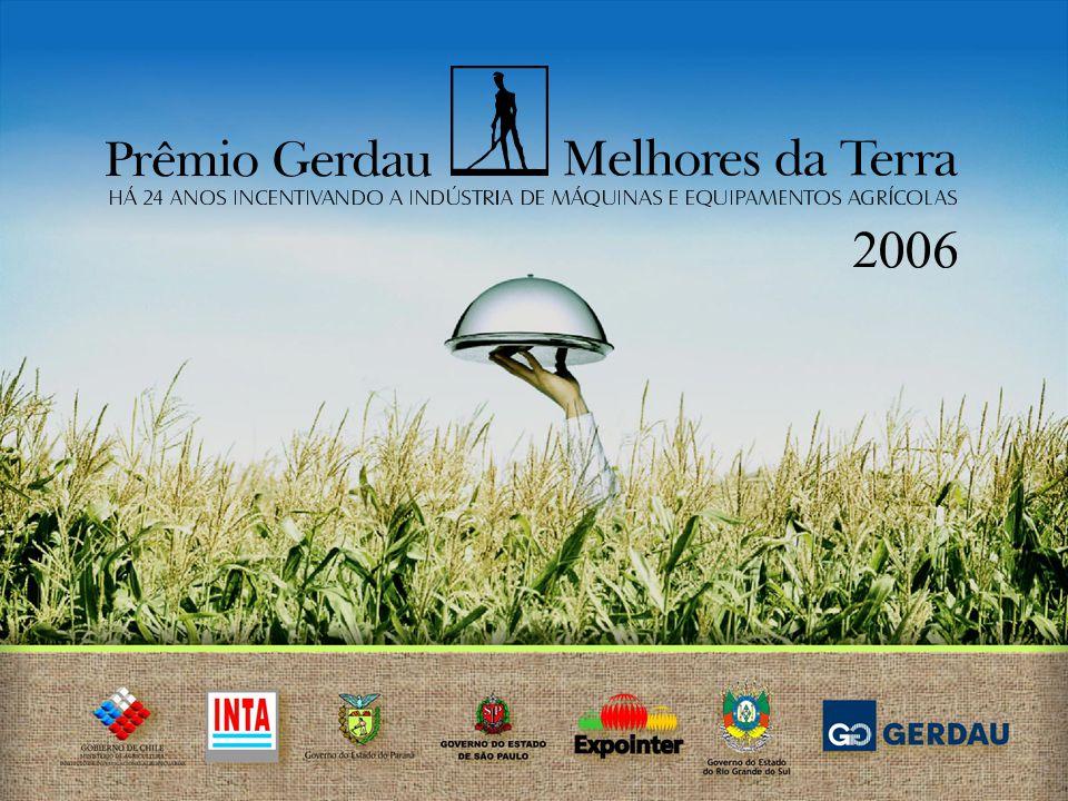 O PRÊMIO Maior premiação da América do Sul para máquinas e equipamentos agrícolas 24 ANOS DE EXISTÊNCIA
