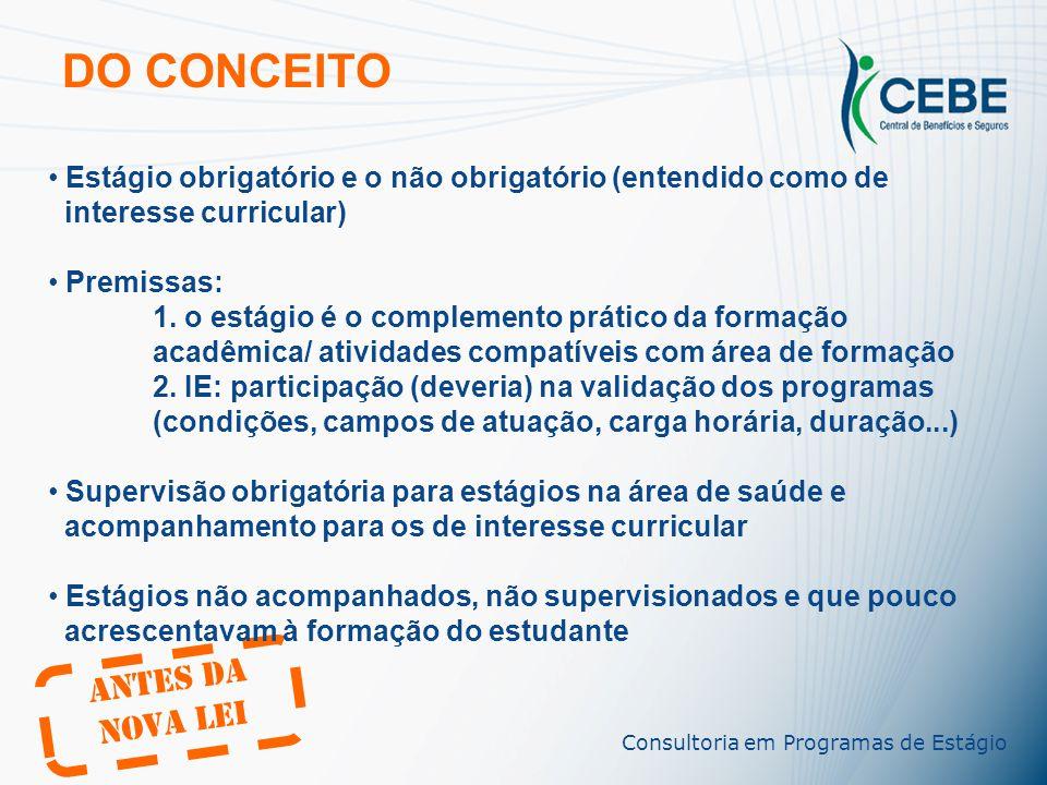 Rossano Lippi rlippi@cebe.com.br (11) 3285-0703 Consultoria em Programas de Estágio