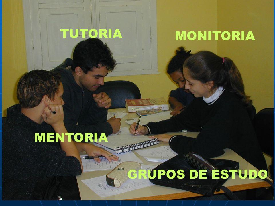 TUTORIA MONITORIA GRUPOS DE ESTUDO MENTORIA