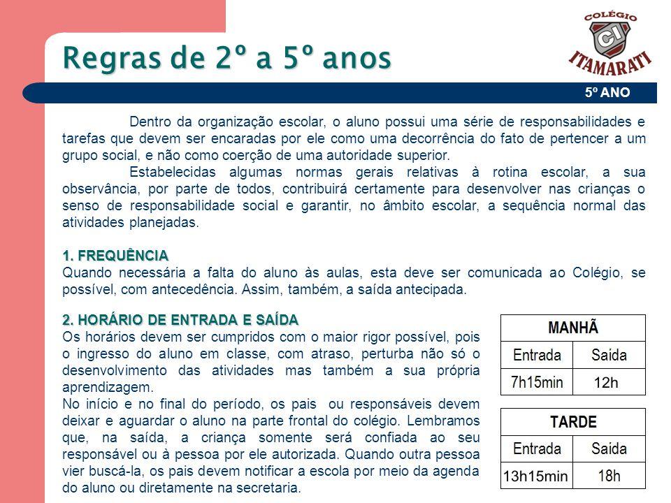 5º ANO Colégio Itamarati Educação Infantil e Ensino Fundamental Rua Abraão Caixe, 383 – Jardim Itamarati CEP: 14020-630 – Ribeirão Preto – SP Fone/Fax: (16) 3323-0888 e-mail: colegioitamarati@colegioitamarati.com.brcolegioitamarati@colegioitamarati.com.br Site: www.colegioitamarati.com.brwww.colegioitamarati.com.br2014