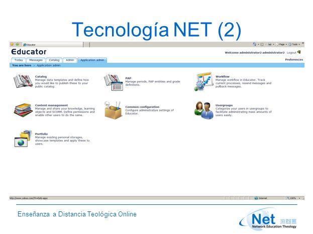 Enseñanza a Distancia Teológica Online Tecnología NET (2)