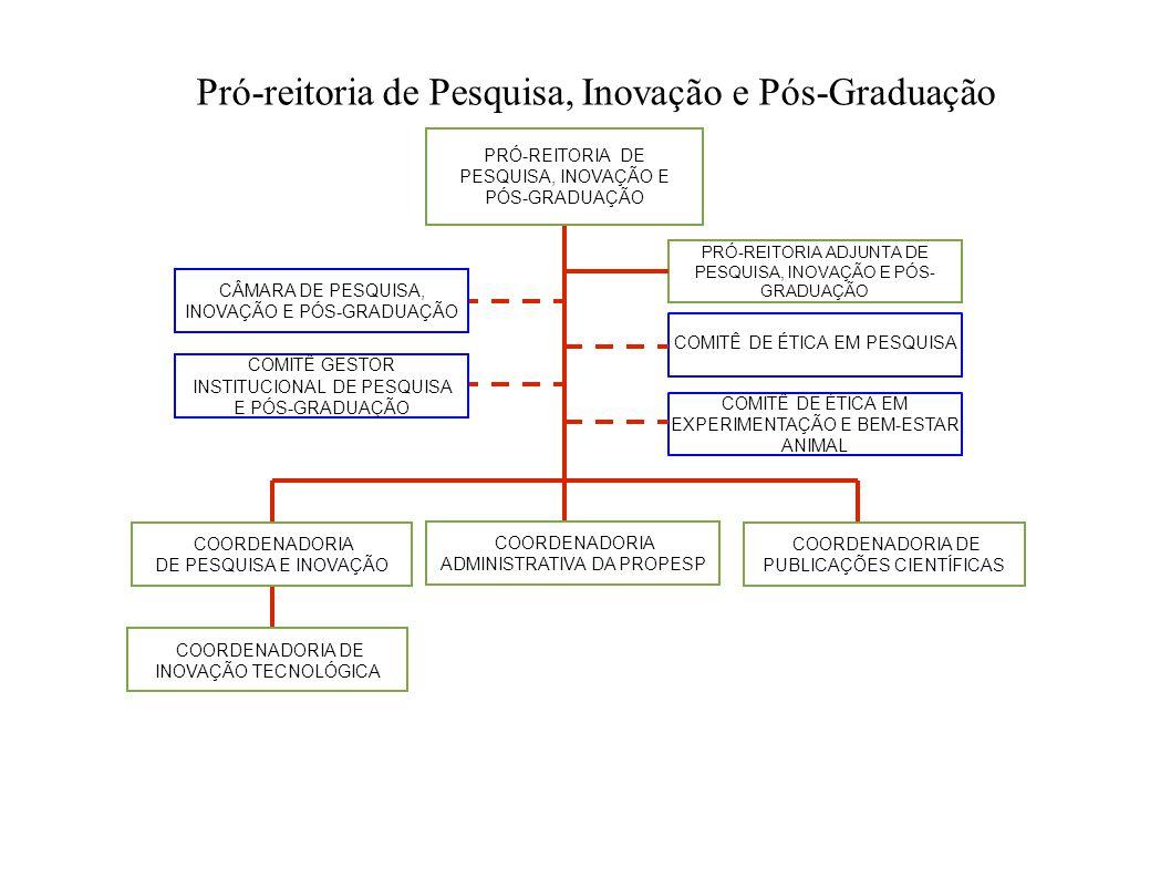 Pró-reitoria de Pesquisa, Inovação e Pós-Graduação PRÓ-REITORIA DE PESQUISA, INOVAÇÃO E PÓS-GRADUAÇÃO PRÓ-REITORIA ADJUNTA DE PESQUISA, INOVAÇÃO E PÓS