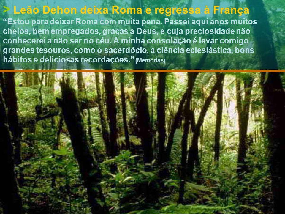 > 24|julho|1871 Leão Dehon é doutor em Direito Canónico