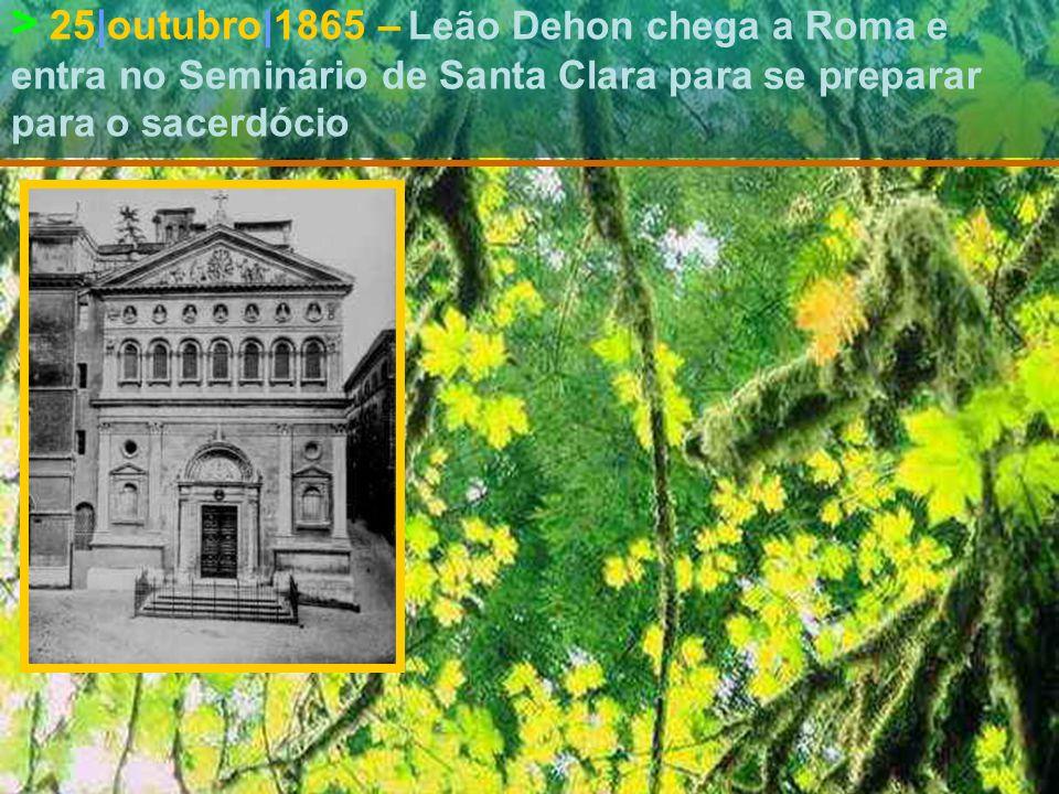 > 2|abril|1864 Leão Dehon é doutor em Direito Civil