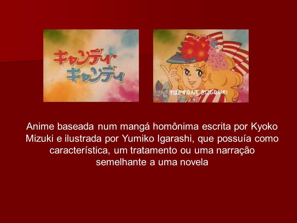 Anime baseada num mangá homônima escrita por Kyoko Mizuki e ilustrada por Yumiko Igarashi, que possuía como característica, um tratamento ou uma narração semelhante a uma novela