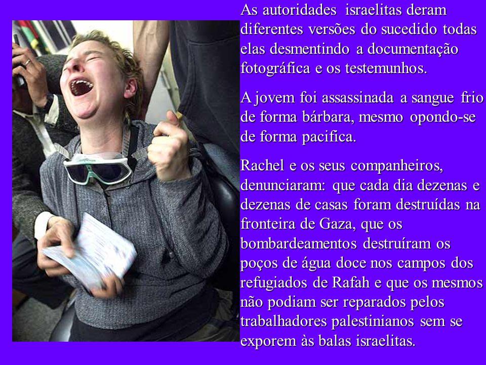 Muitas foram as iniciativas em Olympia (Washington) e nos Estados Unidos para recordar Rachel.