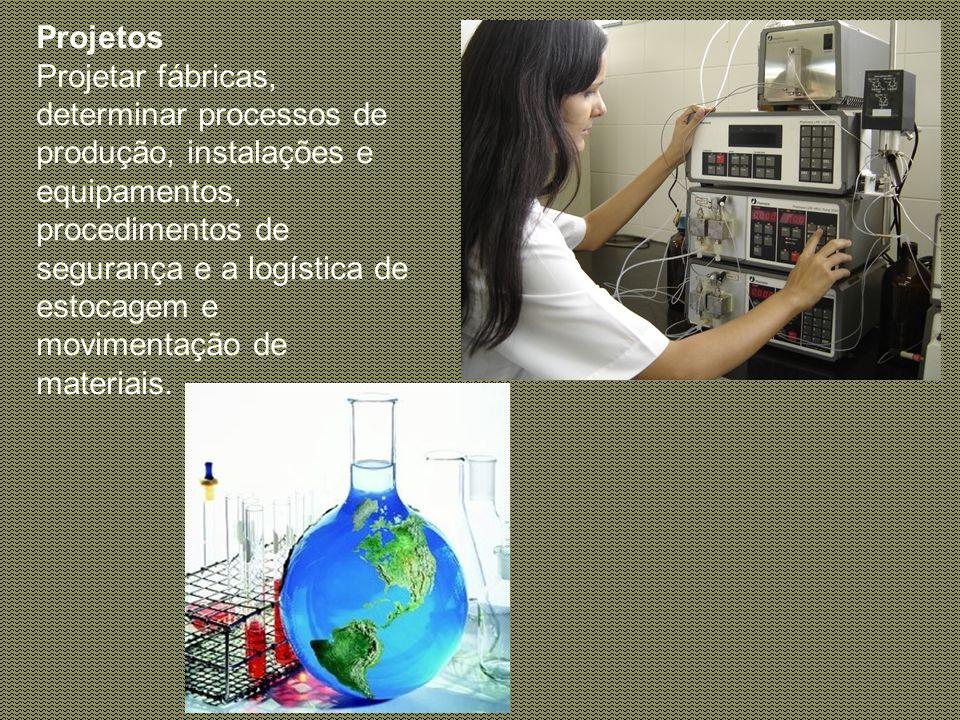 Meio ambiente Definir normas e métodos de preservação ambiental em toda a cadeia produtiva. Reciclar e tratar resíduos industriais. Desenvolver tecnol