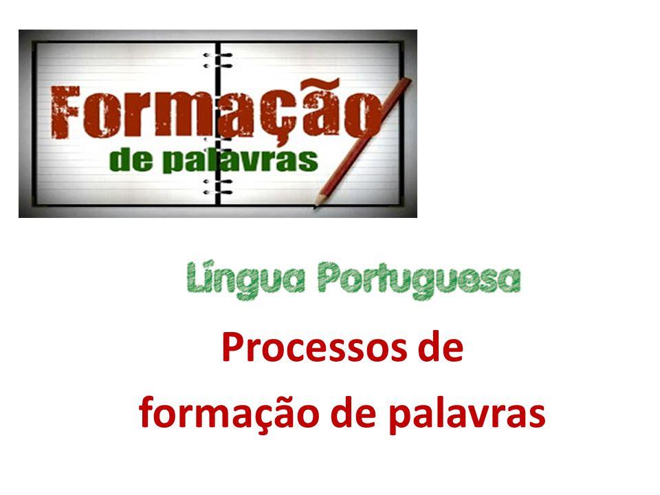 Dizei-me, caros deuses Vénus e Marte, quanto ao processo de formação de palavras, a língua portuguesa é constituída por: Palavras simples, que são formadas por um único radical.