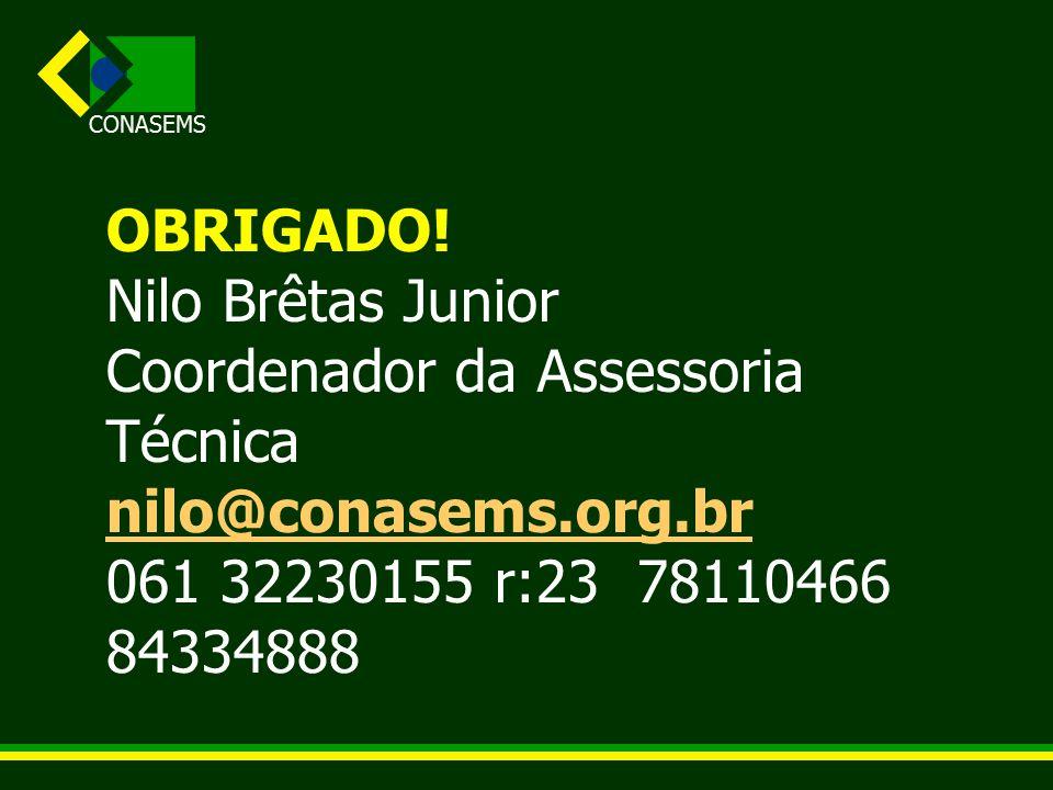 CONASEMS OBRIGADO.