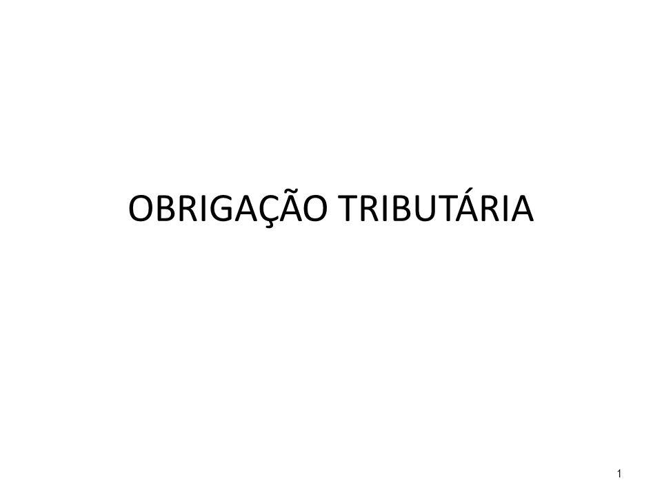 OBRIGAÇÃO TRIBUTÁRIA 1
