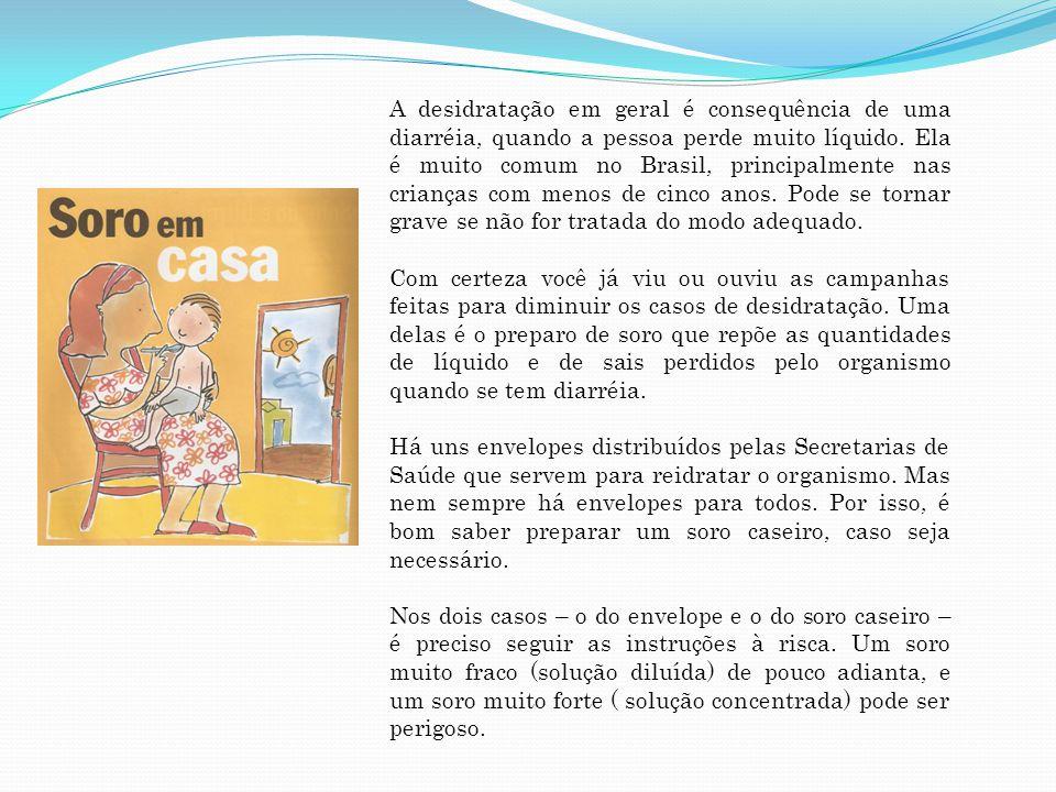 Material 1 envelope fornecido pela Secretaria de Saúde do seu município 1 litro de água previamente bem fervida Como Fazer Dissolva o conteúdo do envelope em 1 litro de água fervida fria.