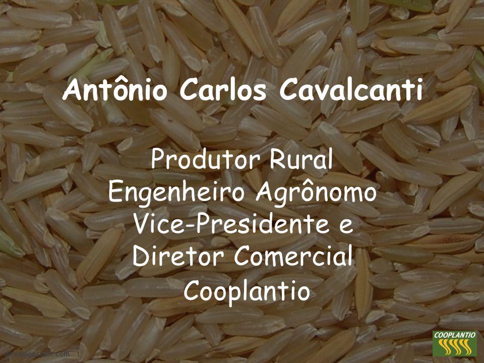 Antônio Carlos Cavalcanti Produtor Rural Engenheiro Agrônomo Vice-Presidente e Diretor Comercial Cooplantio