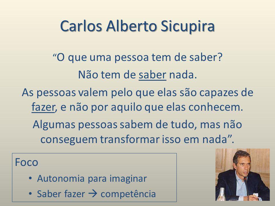 Carlos Alberto Sicupira O que uma pessoa tem de saber.
