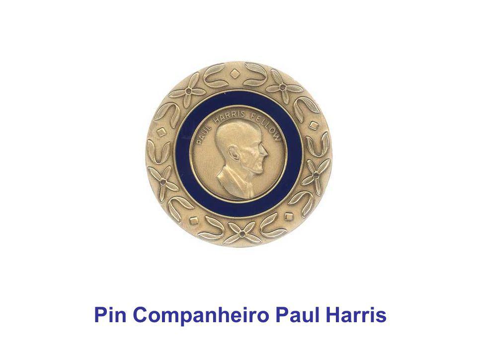 Pin Companheiro Paul Harris