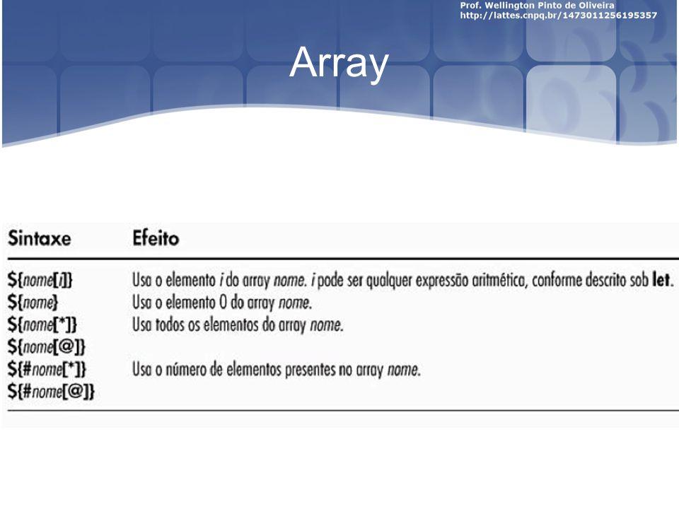 Prática N. 05 Fazer um array com seu nome e exibir o primeiro nome e o último nome.