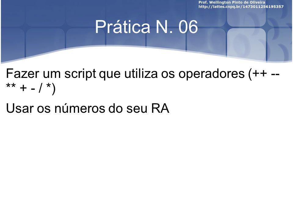 Prática N.