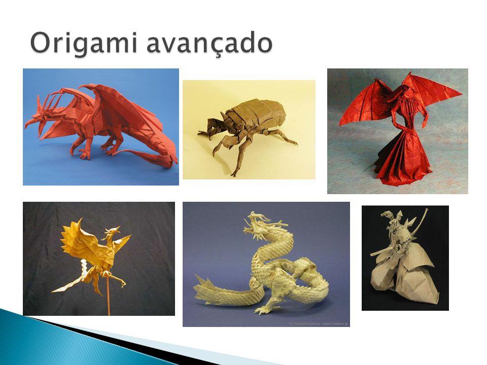  Todo mundo pode fazer origamis, basta começar a fazer.