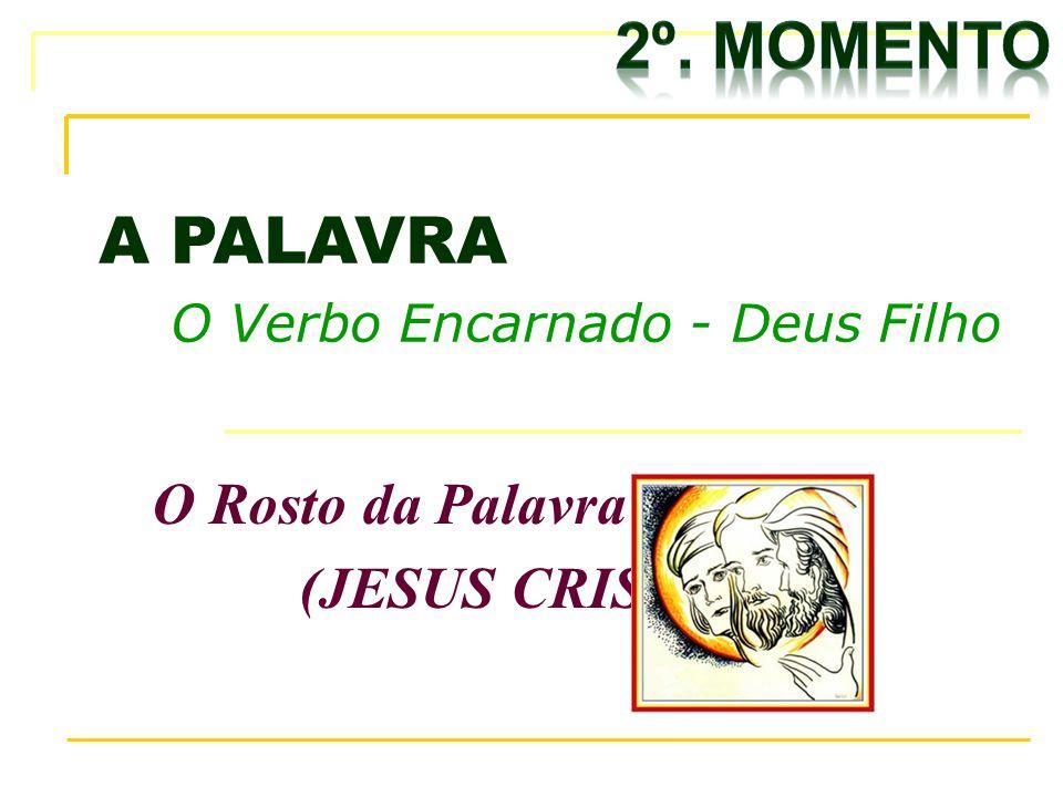 A PALAVRA O Verbo Encarnado - Deus Filho O Rosto da Palavra (JESUS CRISTO)