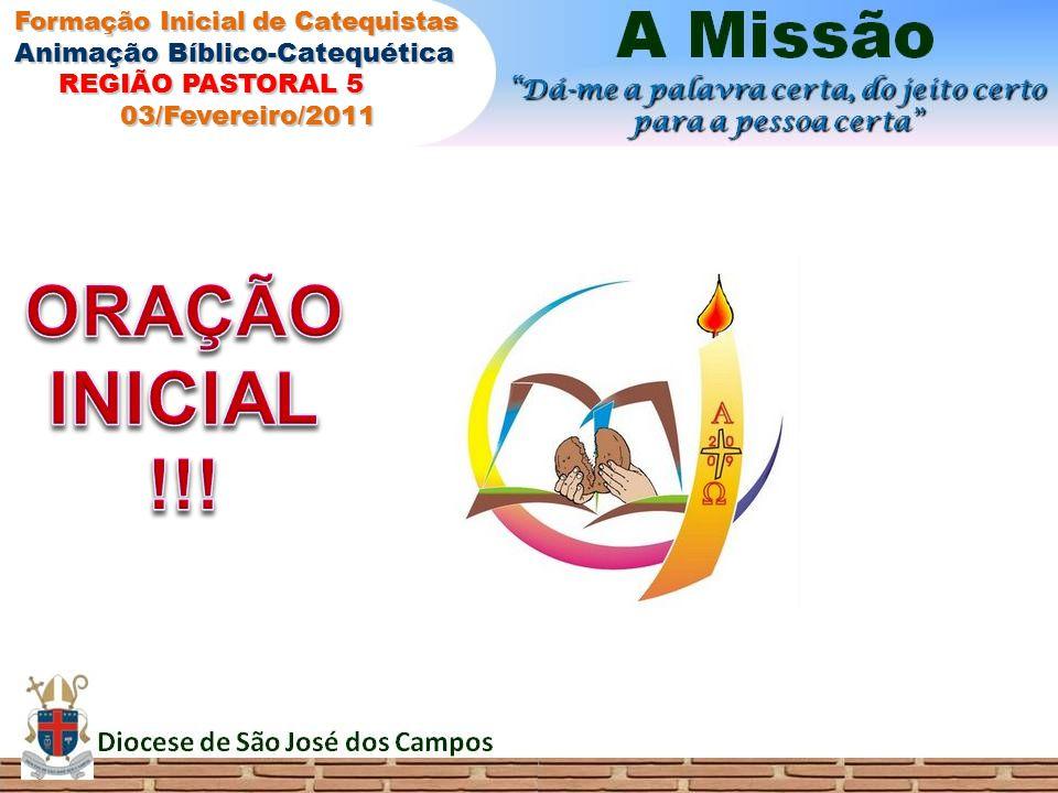 A MISSÃO O impulso da Palavra (Deus Espírito Santo) A Casa da Palavra (COMUNIDADES)
