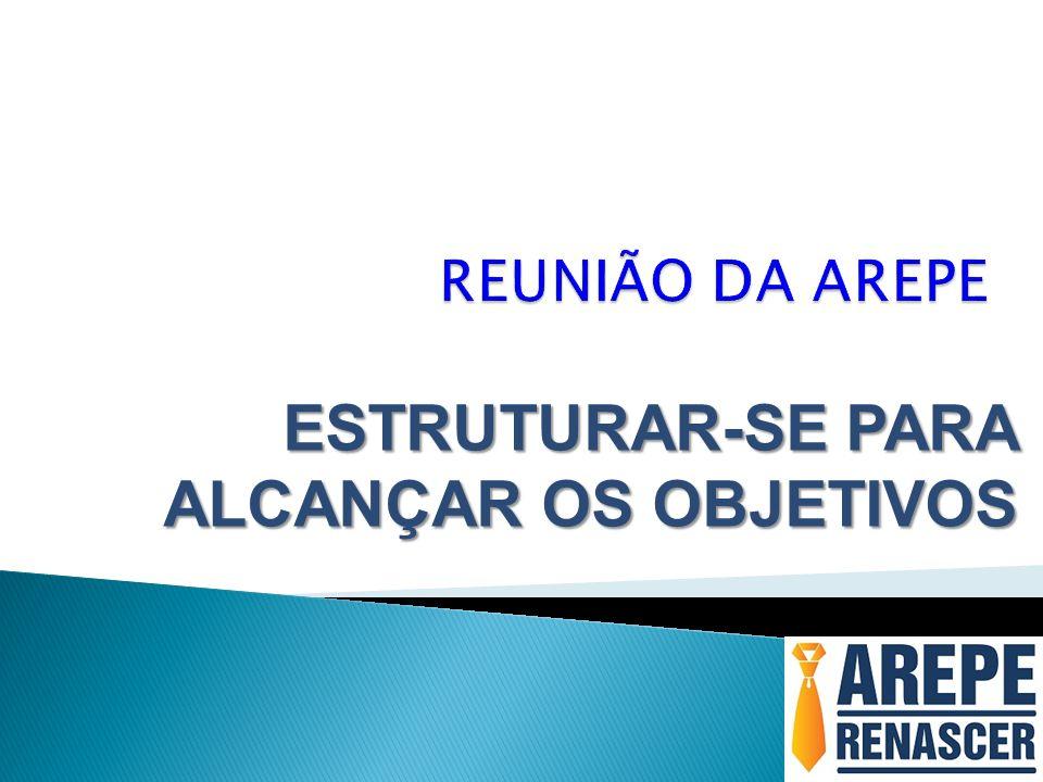 ESTRUTURAR-SE PARA ALCANÇAR OS OBJETIVOS