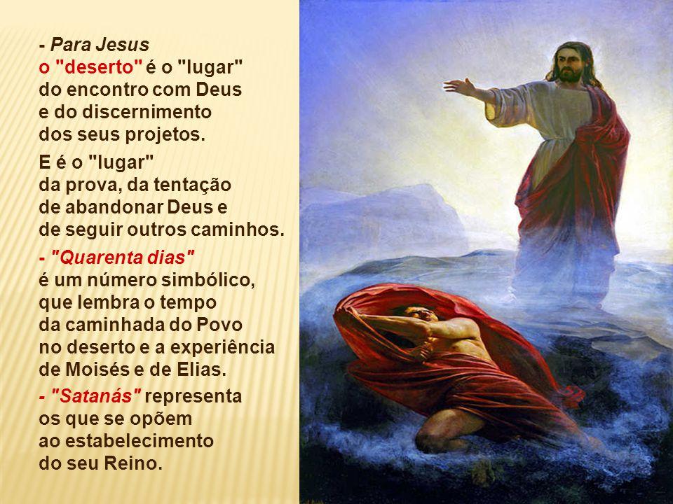 O Evangelho resume as palavras iniciais do ministério de Jesus: