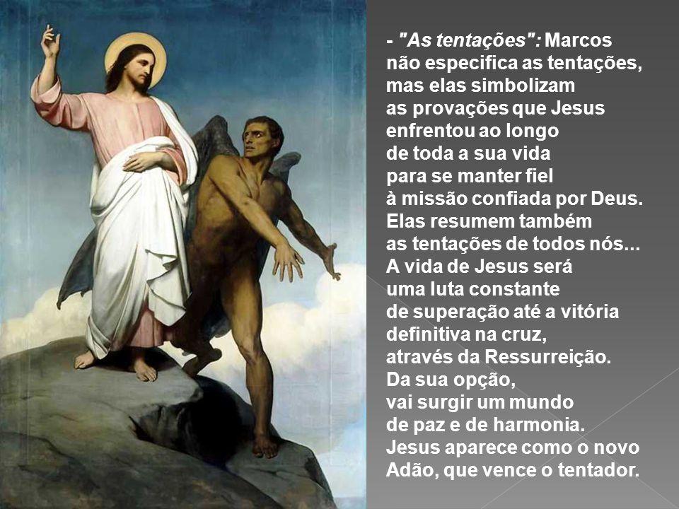 - Para Jesus o