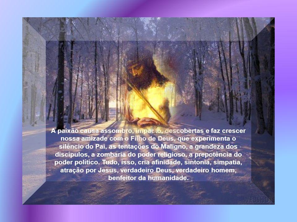 Quaresma não é muito pensar, mas, muito amar, muito crer, muito meditar. O Evangelho da paixão do Senhor cativou a humanidade e transformou perversos