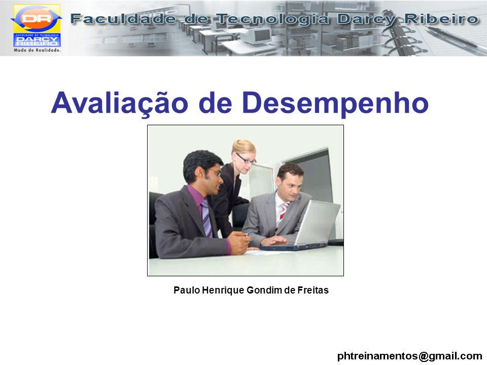 Avaliação de Desempenho Paulo Henrique Gondim de Freitas