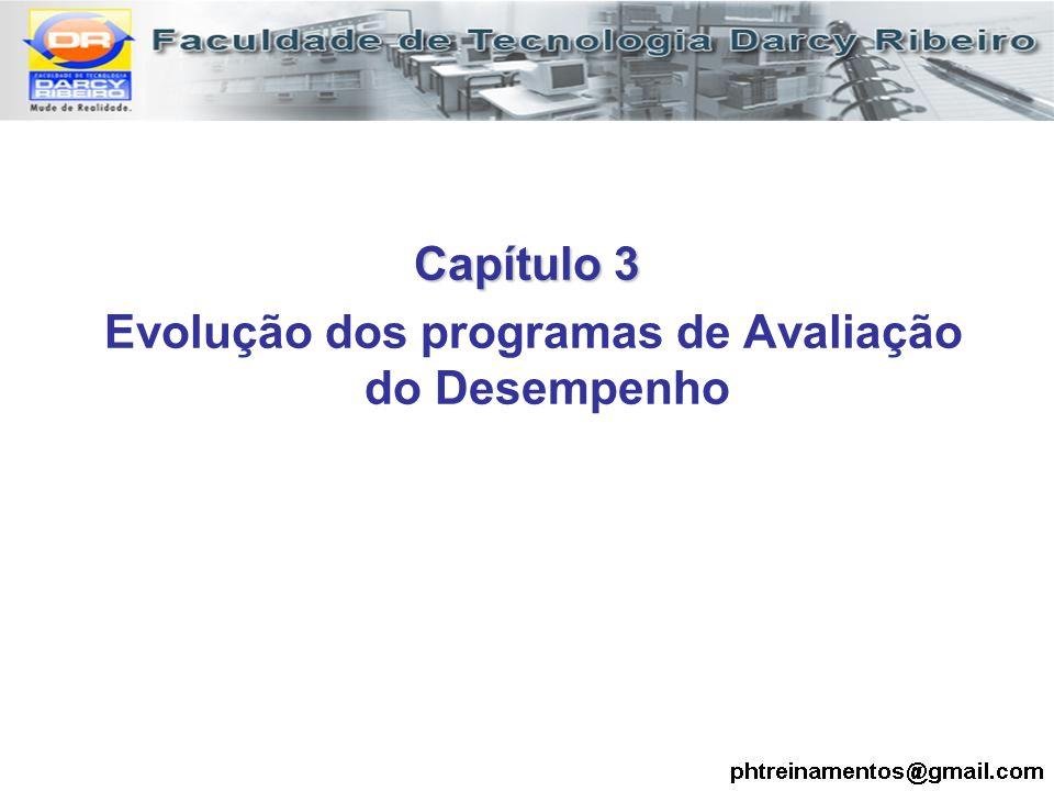 Capítulo 3 Evolução dos programas de Avaliação do Desempenho