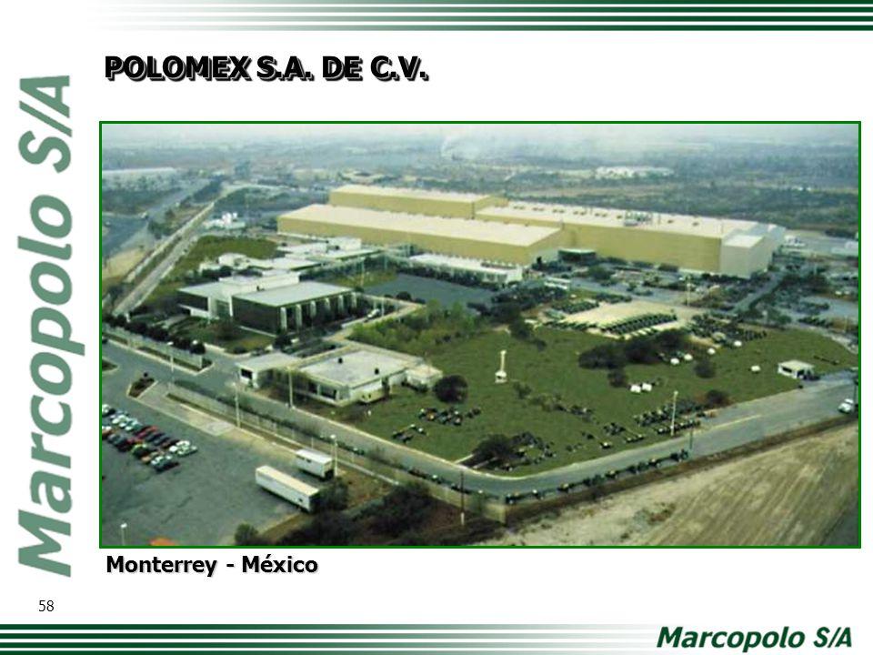 Monterrey - México POLOMEX S.A. DE C.V. 58