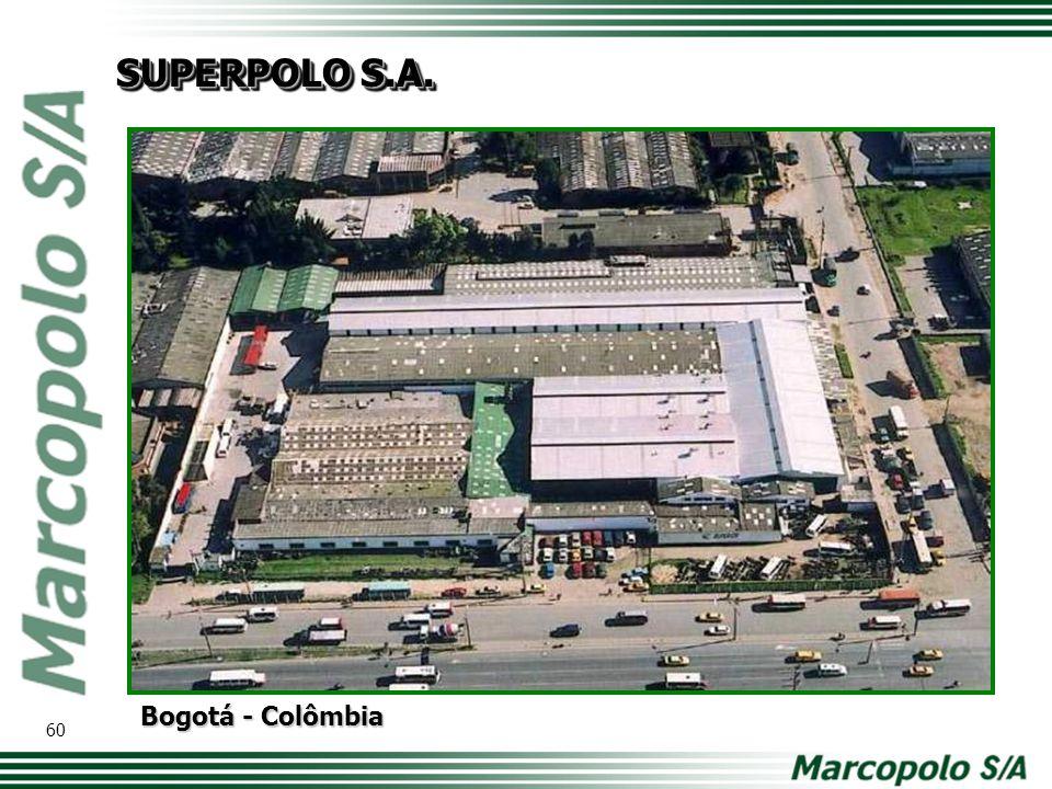 Bogotá - Colômbia SUPERPOLO S.A. 60