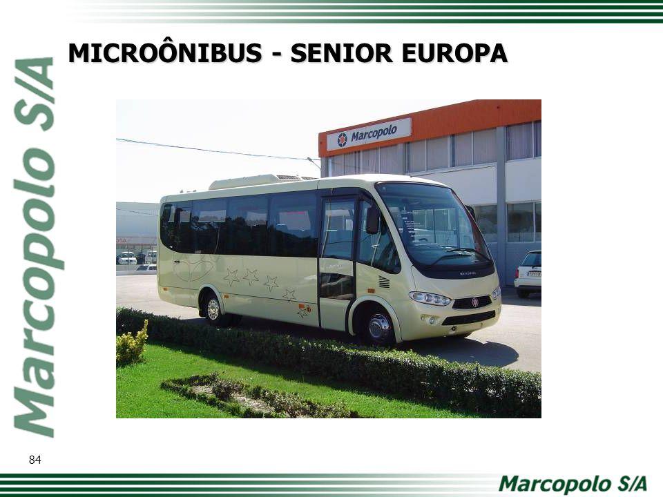 MICROÔNIBUS - SENIOR EUROPA 84