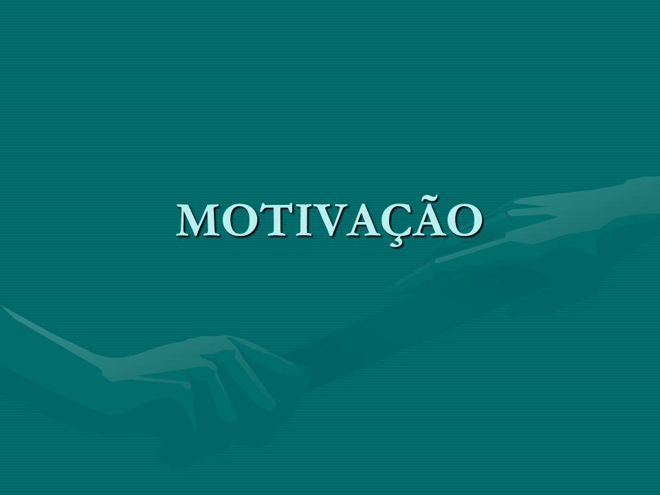 MOTIVAÇÃO: A sabedoria do Trabalho em EQUIPE consiste em compartilhar o ATENDIMENTO DAS NECESSIDADES INDIVIDUAIS dos membros com o atendimento das NECESSIDADES DO TIME quando um TIME é uma unidade de trabalho ALTAMENTE MOTIVADA.