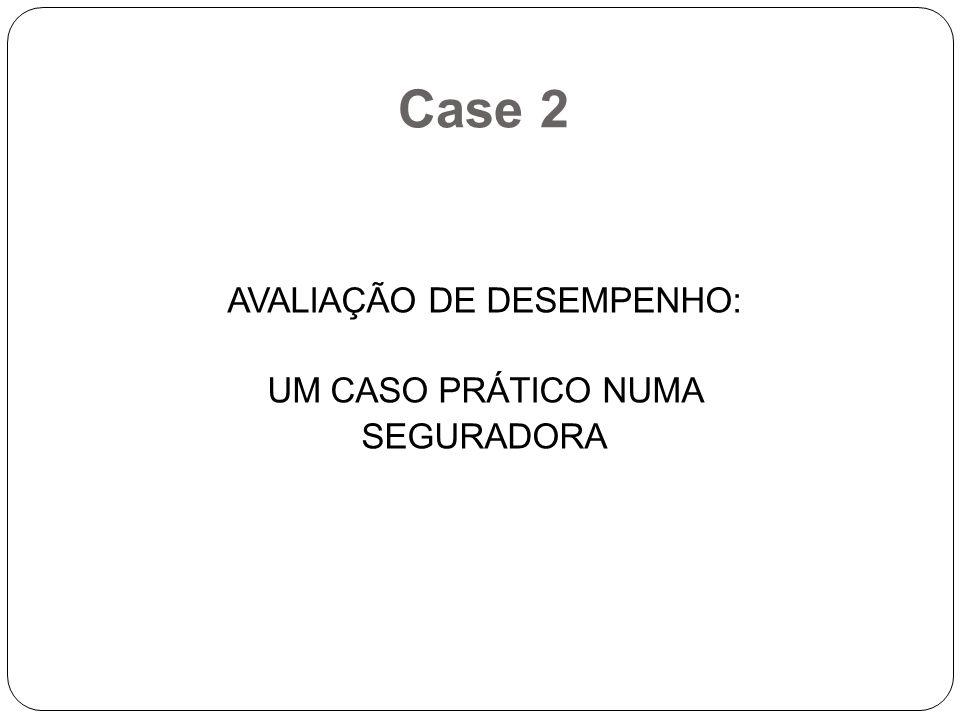 Case 2 AVALIAÇÃO DE DESEMPENHO: UM CASO PRÁTICO NUMA SEGURADORA