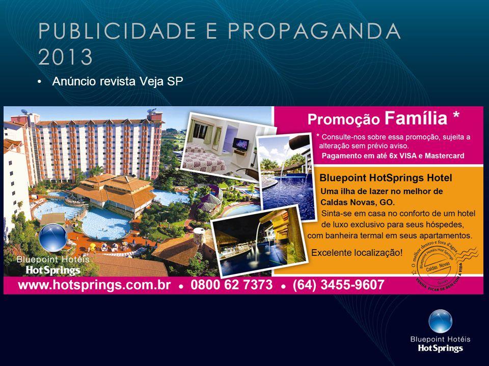 PUBLICIDADE E PROPAGANDA 2013 Anúncio revista Veja SP