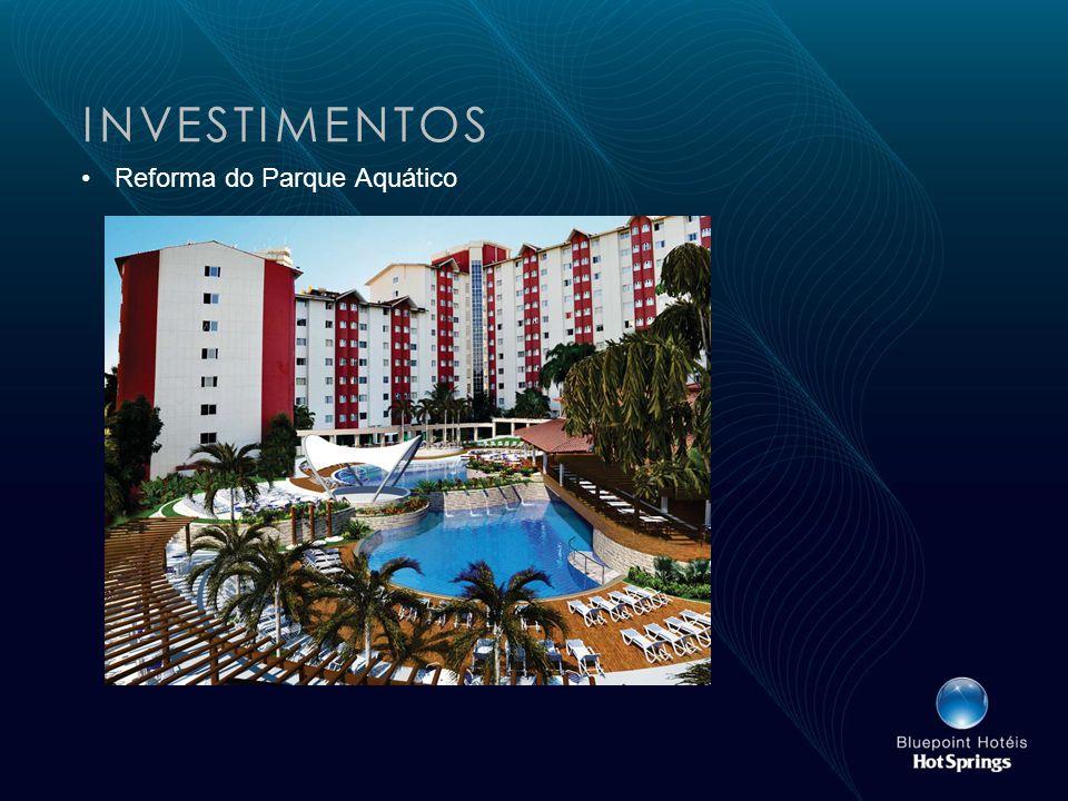 INVESTIMENTOS Reforma do Parque Aquático