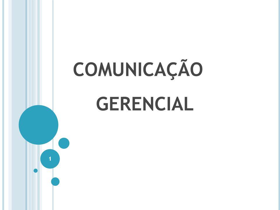 COMUNICAÇÃO GERENCIAL 1