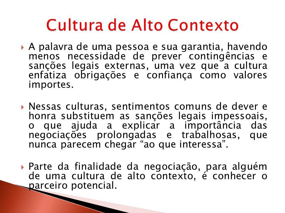 FATORES/DIMENSÕESALTO CONTEXTOBAIXO CONTEXTO AdvogadosMenos importanteMuito importante.