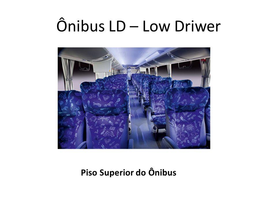 Ônibus LD – Low Driwer Piso Superior do Ônibus