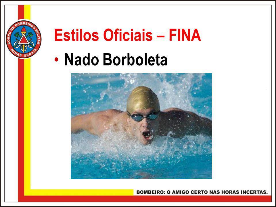 Estilos Oficiais – FINA Nado Borboleta