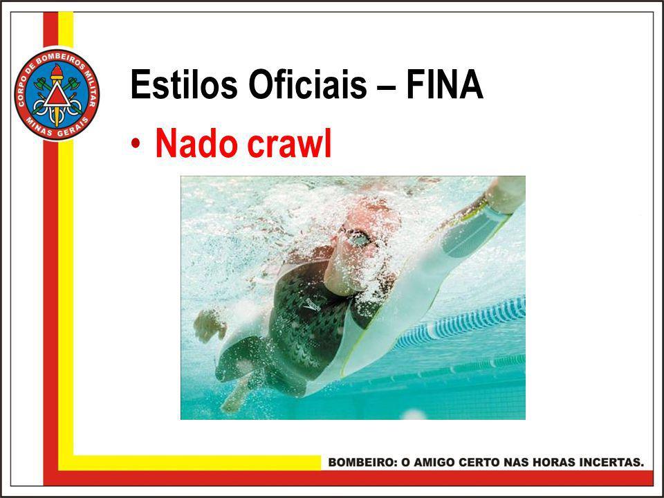 Estilos Oficiais – FINA Nado crawl