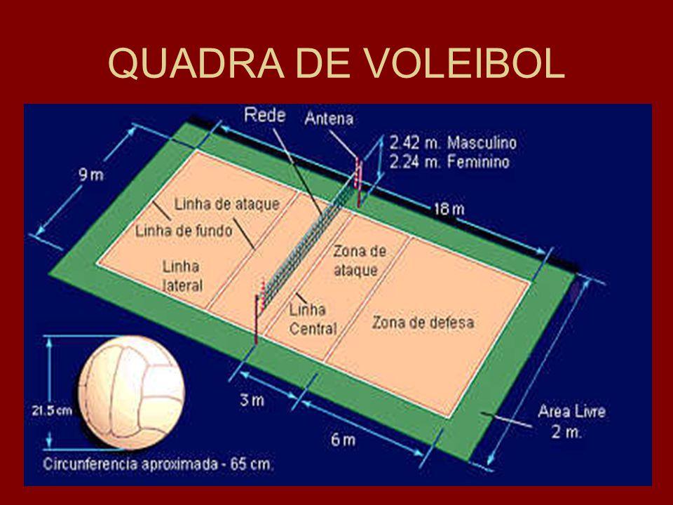 QUADRA DE VOLEIBOL