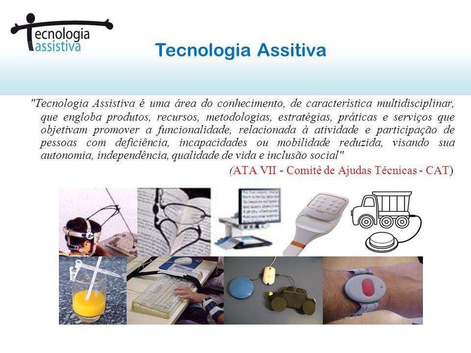 Projeto de Extensão na Área de Tecnologia Assistiva Curso de Eng.