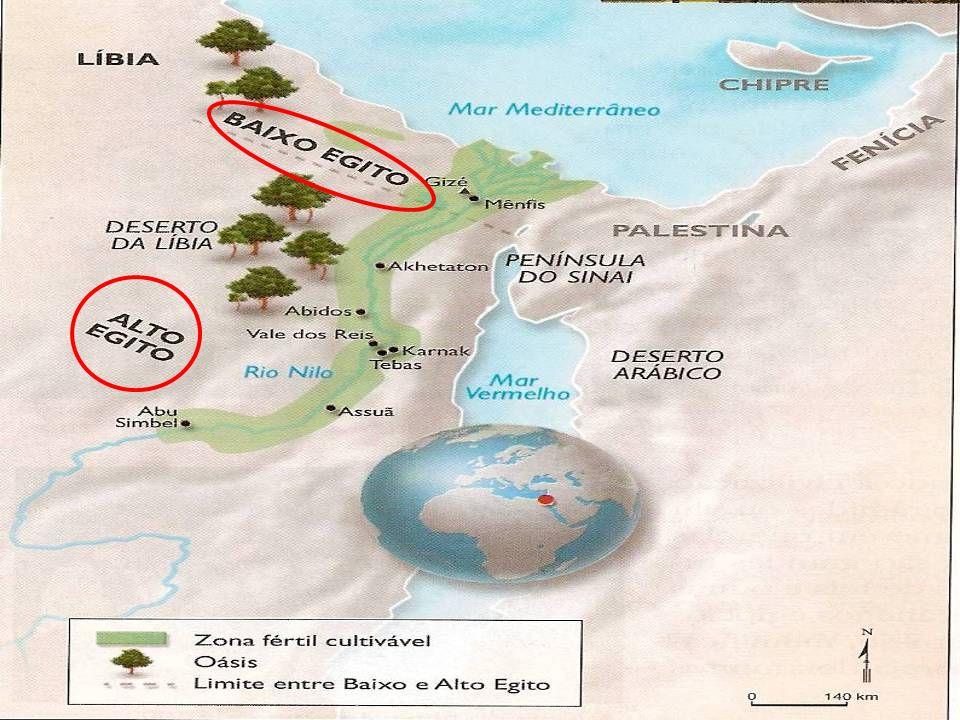 EGITO,dádiva do NILO O Nilo corta o Egito de sul a norte e deságua no mar Mediterrâneo.O Nilo corta o Egito de sul a norte e deságua no mar Mediterrâneo.