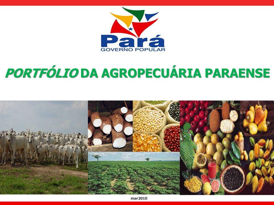 mar2010 PORTFÓLIO DA AGROPECUÁRIA PARAENSE