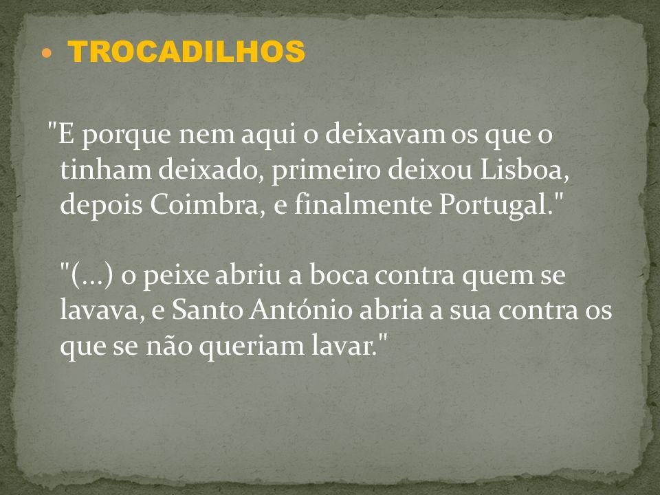 TROCADILHOS