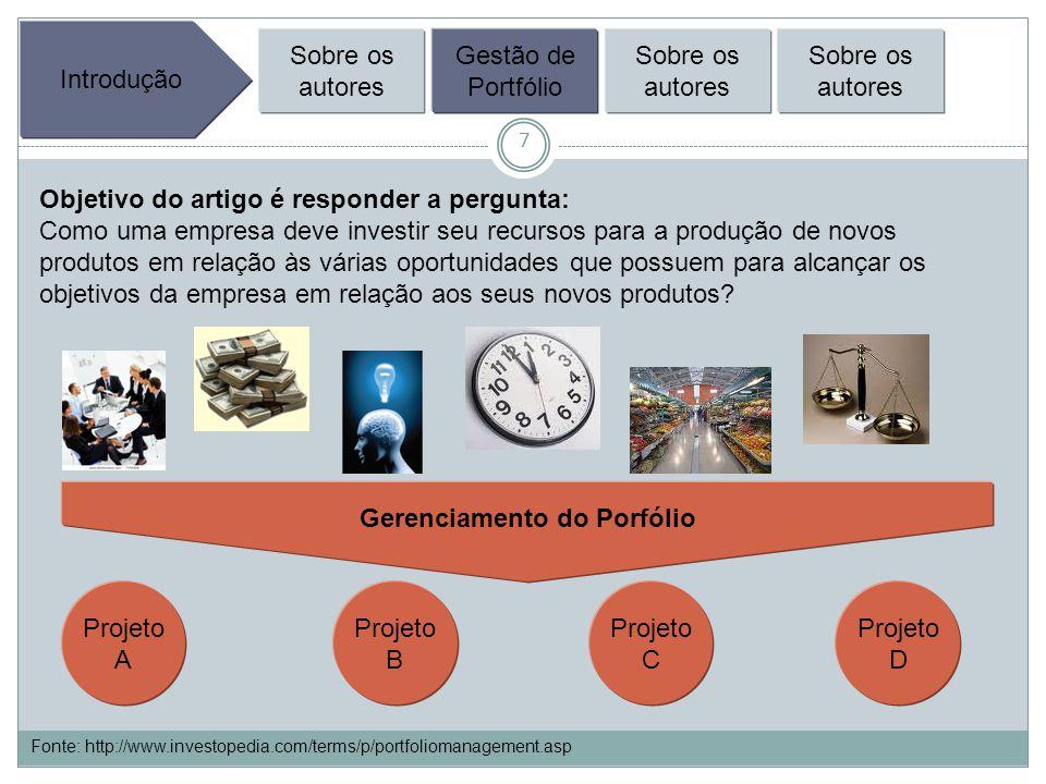 48 PM in NPD – Lessons from the Leaders II Onde Estamos Gerenciamento de Portfólio é uma questão vital.